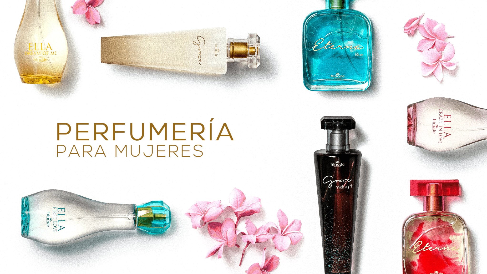 Perfumería Mujer Grupo Hinode