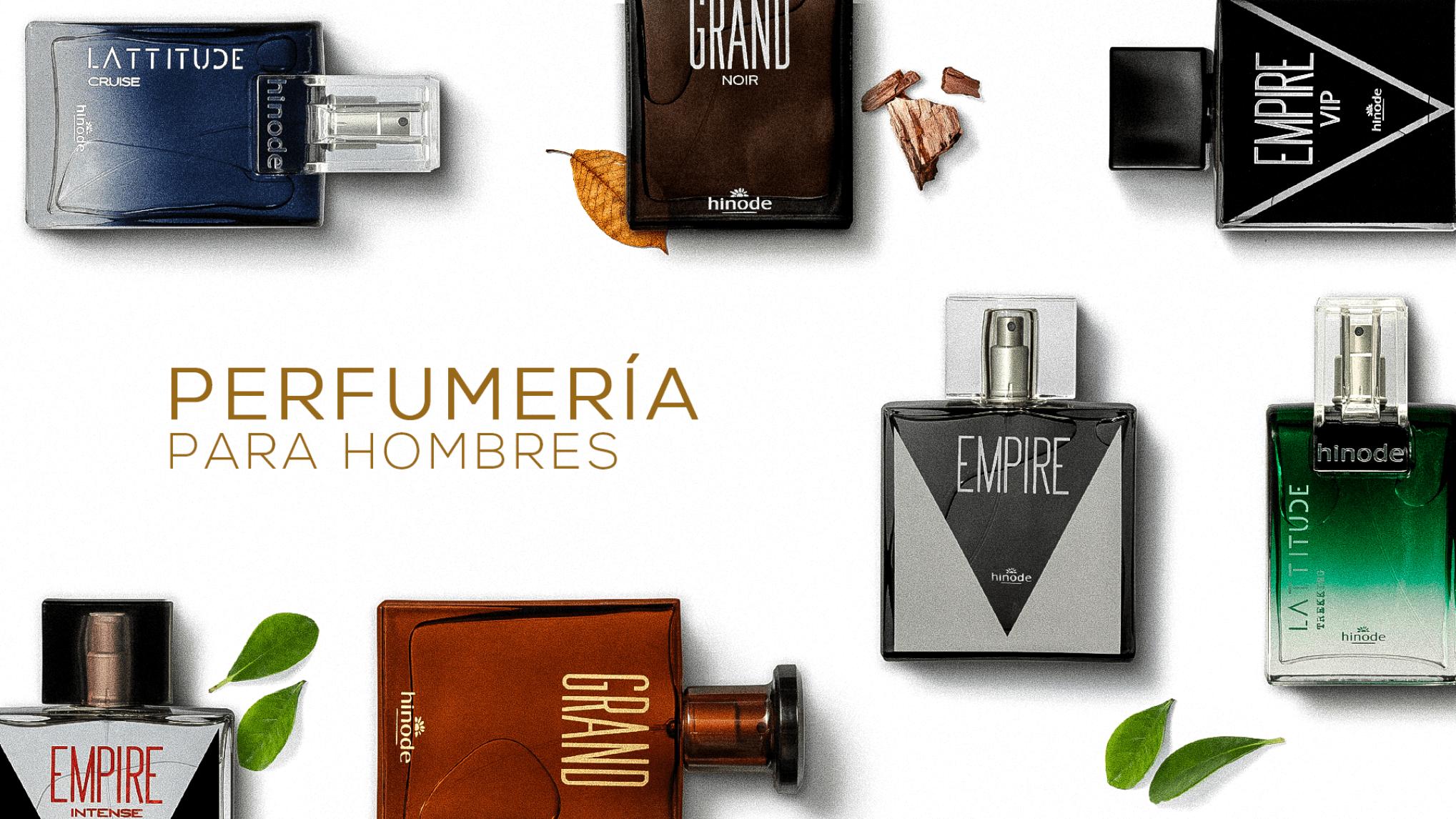 Perfumería hombre Grupo Hinode