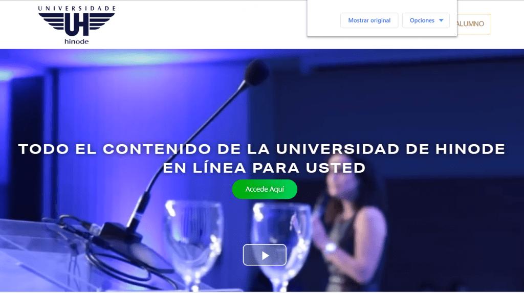 la-mejor-empresa-multinivel Universidad hinode