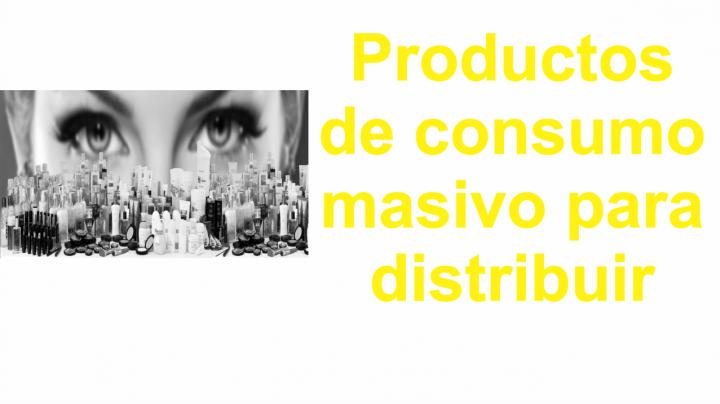 Productos de consumo masivo